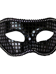 cheap -1PC Ms Masquerade Mask For Halloween Costume Party Random Color