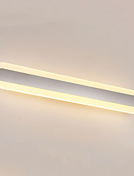 70cm High Quality 24W LED Mirror Lamp Bathroom Lights 90-240V Stainless and Acrylic Wall Lights Make-up Lighting