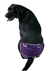 Cani Pantalone Abbigliamento per cani Estate Primavera/Autunno Tinta unita Casual Nero Viola Blu Rosa