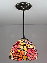 billige -Vedhæng Lys Ned Lys Malede finish Metal Glas Ministil 110-120V / 220-240V Pære ikke Inkluderet / E12 / E14