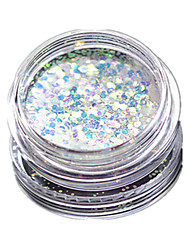 cheap -1 Bottle Nail Art Match Color Highlight Glitter Shining Colorful Powder Nail Makeup Beauty 01