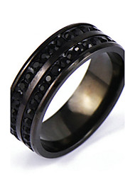 cheap -Men's Others Band Ring - Rock / Punk Black Ring For Daily / Casual