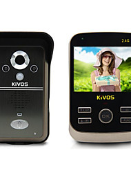 KiVOS KDB301 Wireless Video Intercom Doorbell Doorbell Household Hotel Night Waterproof Camera Monitoring
