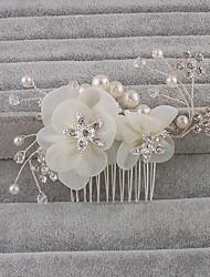 abordables -cheveux strass peignes bandeau de mariage élégant style féminin