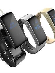 abordables -DF22 Reloj Smart Pulsera Smart iOS Android iPhone Control de voz Deportes Pantalla táctil Seguimiento del Sueño Sensor de Dedo