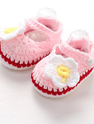 Unisex Baby Shoes Fur Summer Comfort Sandals For Outdoor White Purple Red Blue Blushing Pink