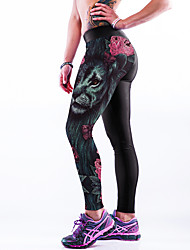 cheap -Women Print Legging,Spandex