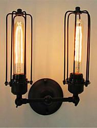 baratos -Rústico/Campestre Luminárias de parede Para Metal Luz de parede 110-120V 220-240V 40W