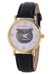 Women's Fashion Analog Owl Ladies' Christmas Display Strap Bohemia Quartz Wrist Watch