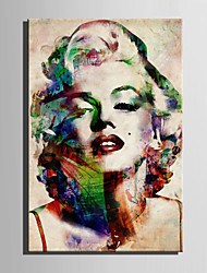 cheap -E-HOME® Stretched Canvas Art Monroe Decoration Painting  One Pcs