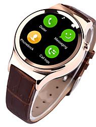 abordables -Reloj elegante para iOS / Android Resistente al Agua Temporizador / Reloj Cronómetro / Seguimiento de Actividad / Seguimiento del Sueño / Monitor de Pulso Cardiaco / GSM (900/1800/1900MHz)