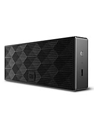 Mini altoparlante stereo portatile senza fili stereo di 4.0edr mini di scatola quadrante xiaomi mini handsfree