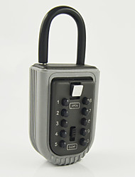Password Padlock Key Storage Key Safe Box with 10-digit Combination Lock