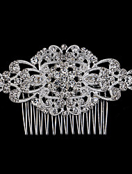 10*6 cm Hair Combs with Butterfly Crystal for Lady Women Wedding Party Headpiece Hair Jewelry