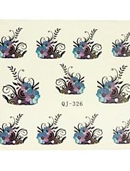 14Pcs/Sheet Nail Art tarra Veden siirto Decals Sarjakuva / Lovely meikki Kosmeettiset Nail Art Design