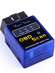 baratos -ELM327 bluetooth / vGATE instrumento de detecção de veículos do bluetooth obd2 Bluetooth v2.1