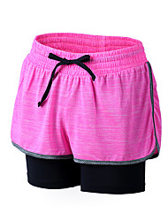 cheap -Women's Running Shorts - Purple, Blue, Pink Sports Shorts / Baggy Shorts Yoga, Fitness, Gym Activewear Quick Dry, Breathable, Compression Inelastic