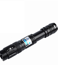 Uking  ZQ-j16 Blue /Laser Flashlight With Adjustable Focus (5MW 450nm Black)