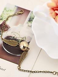 Homme Femme Chaînes & Bracelets Mode bijoux de fantaisie Alliage Ailes / Plume Bijoux Pour Anniversaire Quotidien Décontracté Regalos de