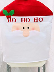 1pcs New Arrival Christmas Chair Covers 50*60cm Christmas Decorations Navidad Adornos Dinner Decor Chair Sets Gift