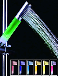 cheap -SDS-A13 Colorful LED Shower Shower Rod / Handheld Shower (ABS Electroplating)