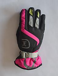 Ski Gloves Women's Activity/ Sports GlovesKeep Warm Waterproof Windproof Fleece Lining Moisture Permeability Breathable Wearproof