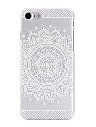Sunflower Printing Pattern  Transparent PC Material Phone Case for  iPhone 7 7 Plus 6s 6 Plus SE 5s 5