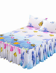 Comfortable Polyester Fitted Sheet Animal Reactive Print