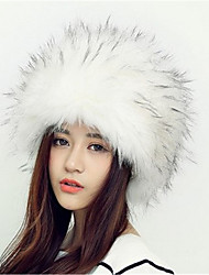 cheap -Unisex Acrylic Floppy Hat,Fashionable Jewelry Animal Print Winter Fall White Black Gray Camel