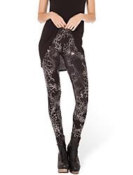 preiswerte -Damen Bedruckt Legging,Polyester