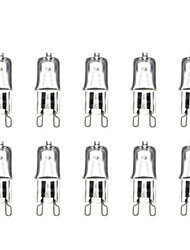 cheap -G9 40W 3000-3500K Warm White Halogen Bulb Light Globe Lamp (220V,10pcs)