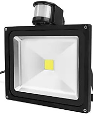 cheap -30W IP65 Waterproof Led Floodlight Project Lamp PIR Motion detective Sensor (AC85-265V)