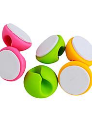Недорогие -Гаджеты для намотки кабеля,Пластик Обои для рабочего Организатор