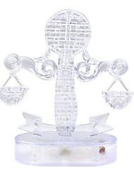 abordables -Puzzles 3D Puzzle Puzzles de Cristal Juguetes 3D Cristal 42 Piezas