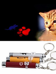 Cat Toy Dog Toy Pet Toys Laser Toy Electronic Footprint Mouse Aluminum
