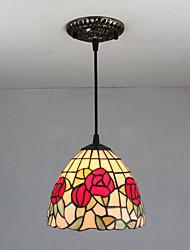 baratos -Tifani Vintage Regional Luzes Pingente Para Quarto Entrada Lâmpada Não Incluída