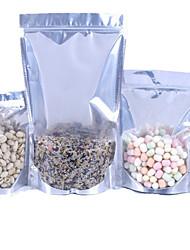 Недорогие -полки из алюминиевой фольги мешок Ziplock молния тянуть независимость кости упакованы мешки еды пакет ten13 * 20 * 4