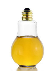 200ML Creative Eye-catching Light Bulb Shape Tea Fruit Juice Drink Bottle Cup Plant Flower Glass Vase