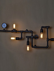 cheap -Loft Industrial Wall Lamps Antique Edison Wall lights with Bulbs E26/E27 Vintage Pipe Wall Lamp for Living Room Lighting