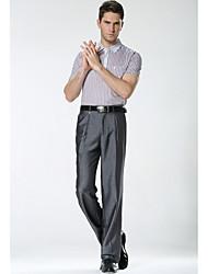 cheap -Men's Simple Business Pants - Solid Colored