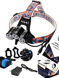 ZQ-X818 Kopfband für Taschenlampen LED 3600LM Lumen 3 Modus Cree XM-L T6 ja Mini Wiederaufladbar Kompakte Größe Notfall Hohe Kraft