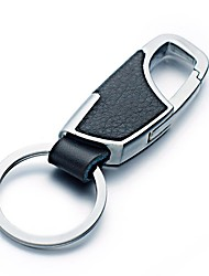 Недорогие -автомобильный Автомобильная цепочка ключей Подвеска и украшения для автомобилей Деловые Настоящая кожа Металл forУниверсальный Мотоциклы