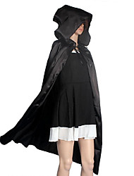 cheap -Witch Cosplay Costume Cloak Party Costume Masquerade Halloween Props Movie Cosplay Black Cloak Christmas Halloween Carnival New Year