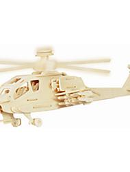 Недорогие -Деревянные пазлы Летательный аппарат Вертолет профессиональный уровень деревянный 1 pcs Детские Мальчики Игрушки Подарок