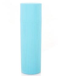 Недорогие -Дорожный кейс для зубной щетки Компактность Туалетные принадлежности для Одежда Нейлон / В полоску Путешествия