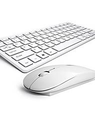baratos -teclado sem fio do mouse pente silenciosa nenhum rato de chocolate luz e teclado ergonómico b.o.w hw098