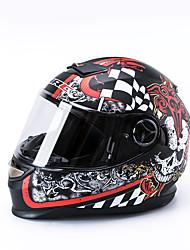 cheap -CARKING C322 Standard Motorcycle Bike Full Face Helmet