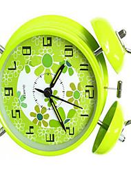 4-Inch Stylish Shell Bell Alarm Clock