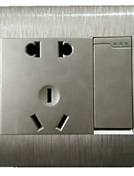 The Wall Switch Socket Brushed Gold