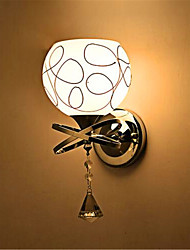 Hotel Led Bedroom Bedside Lamp Modern Mnimalist Glass Wall Lamp